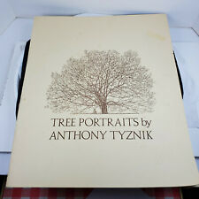 Anthony Tyznik Portfolio of Tree Portraits 6 lithographs 19 1/5 x 16 inches wide
