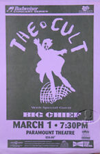 The Cult 1994 Tour Concert Poster Big Chief