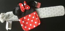 BNWT Official Disney Red Minnie Long Grey Mickey Hot Water Bottle