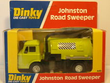 Dinky 449 Johnson Road Sweeper.