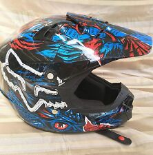 Fox Racing V1 Pilot Dirt Bike Motorcross Helmet - Youth Medium EUC