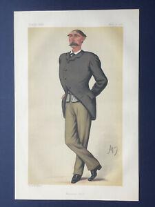 Original 1878 Vanity Fair Print of General Frederick Marshall - The Life Guards