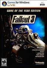 Fallout 3: Game of the Year Edition (PC, 2009)