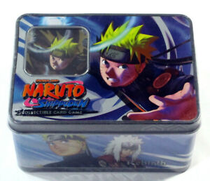Naruto CCG Rebirth The Toad Sages Collector Tin #1 Series 9 Sealed