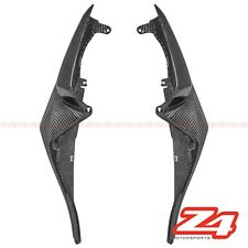 2009-2012 ZX-6R Rear Upper Tail Side Driver Seat Cover Fairing Cowl Carbon Fiber