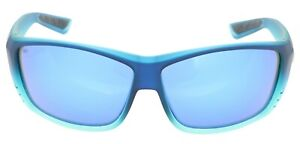 Costa Del Mar Cat Cay Polarized Glass 580G Blue Mirror Sunglasses AT 73 OBMGLP