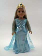 resin R2015 New 13 in Ice Princess Fairy Tassel Doll w//bling wht// silver// blue