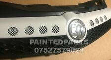 CUSTOM MADE ASTRA VXR WHITE NURBURGRING OPC CHROME GRIFFIN TWINTOP FRONT GRILL