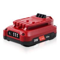 4.0Ah 20V Lithium Ion Battery CMCB204 for Craftsman V20 CMCB204-2 CMCB202 CMCB20