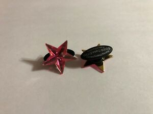 Hot Pink Star Shoe-Doodle Pink Star Shoe Charm for Crocs Shoe Charms PSC507
