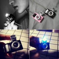 Creative Travaling Photoflash Camera 3D Pendant Photographer Charm Necklace Gift