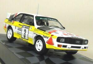 Altaya 1/43 Scale Diecast Model Car Audi Sport Quattro Rally Monte Carlo 1985
