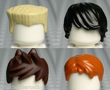 ☀️NEW LEGO NINJAGO MINIFIG HAIR SET of 4 Cole Jay Kai Zane ninja headgear