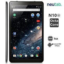 "Neutab N10 Plus 10.1"" Dual Camera Tablet PC Android 5.1 Octa Core 1+16GB WiFi US"