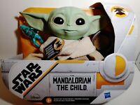 "NEW Hasbro 7.5"" Star Wars The Child Baby Yoda Talking Plush Toy The MANDALORIAN"