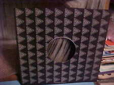 VINTAGE ORIGINAL INFINITY RECORDS COMPANY PAPER INNER SLEEVE  NO RECORD 12 INCH