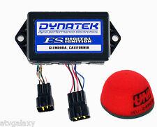 Dynatek CDI Ignition + Uni Air Filter Intake Suzuki DRZ400 DRZ 400 00 01 Dyna FS