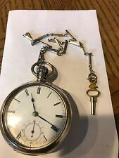 Waltham Keywind & Set Pocketwatch, Working With Coin Silver Case