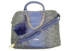 Liu Jo Damenhandtasche Shopping L Poppa Violet Kunstleder Blau N65071E0033-93725