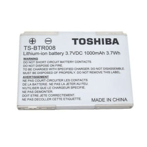 Original Toshiba 1000mAh Battery TS-BTR008 For TGO2A, T-01A, TG01, TG01c, TG02