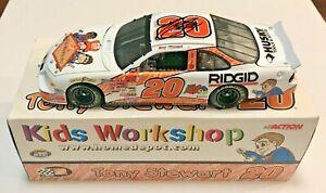 2000 Tony Stewart Home Depot Kids Workshop Signed Auto 1/24 Diecast Car COA