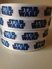"""STAR Wars Nastro Largo 7/8"""" Nuovo Venditore Regno Unito GRATIS P&P"""