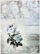 Papel De Arroz Para Decoupage, Scrapbook Hoja, artesanía quens's Garden