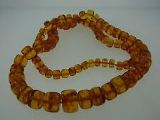 STUNNING Baltic Amber Beaded Necklace