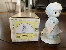 "New ListingPrecious Moments ""March"" porcelain~Enecso circa 1987~Nib"