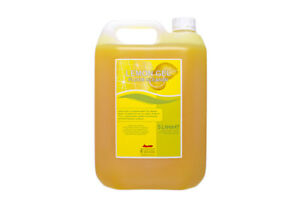 5 Litre Lemon Gel FLOOR Cleaner - thick, strong and smells great