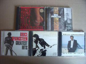 5 x Bruce Springsteen - The Rising, Tunnel Of Love, Human Touch, Born To Run...