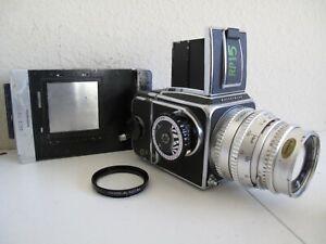 Hasselblad 500C Zeiss w/Planar 120mm Lens & Polaroid Back 6x6