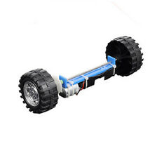 Two Wheels Balanced Electric Driver Car DIY Kits Hobby Robotic Toy Model WL