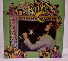 The Kinks Album Signed by full band Ray & Dave Davies +5 all Member