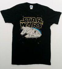 Rare Vintage Star Wars Lucas Film small Black T- Shirt USA Like Nu