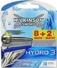 Wilkinson Sword Hydro 3 Razor Blades Pack of 10