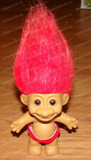 Chippendale Dancer Troll (Russ Berrie, 18427) Red Speedo