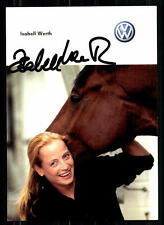 Isabell Werth Autogrammkarte Orginal Signiert Reiten + A 85300