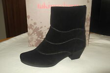 BRAND NEW WOMENS  TS 14+  ANKLE LEATHER BOOTS/SHOES  SZ41  sz 10