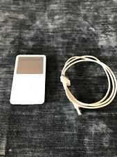iPod Classic 5th generation in white with click wheel, 30GB