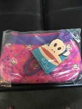 Paul Frank Wristlet Pink Purple Puffer Julius New With Tags Free Shipping