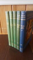 MY BOOK HOUSE 1950 33rd Printing 1st Ed. : Illus. Hardcover-Lot of 5
