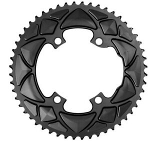 ABSOLUTE BLACK ROUND 110/4 BCD 2X, FOR ALL SHIMANO CRANKS