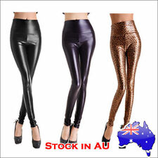 Polyester Leather Pants for Women