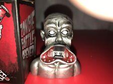 Metal Zombie Bottle Opener Beer Bottle Opener Zombie Walking Dead NEW