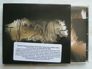 THE DOUBLE - Loose In The Air. 2005 US PROMOTIONAL CD Album in Card Slipcase.