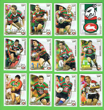 2002  SOUTH SYDNEY RABBITOHS  SELECT NRL CHALLENGE RUGBY LEAGUE CARDS