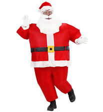 Costume Adulto Autogonfiante, Babbo Natale Gonfiabile *01790