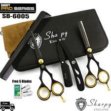 5.5 Professional Barber Cutting Thinning Scissors Shears Set.Hairdressing Salon