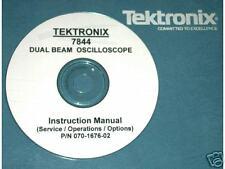Tek Tektronix 7844 Service And Operators Manual